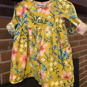 OshKosh 18M floral dress w/ pockets